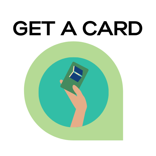 Get a Card icon