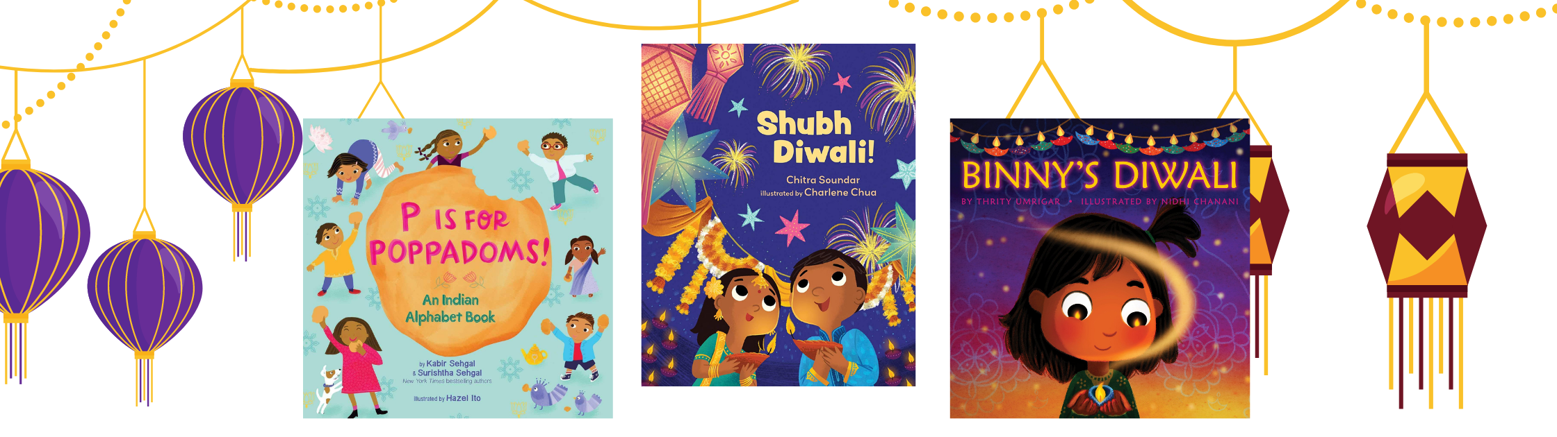 Diwali Book Covers