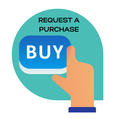 Request a purchase icon