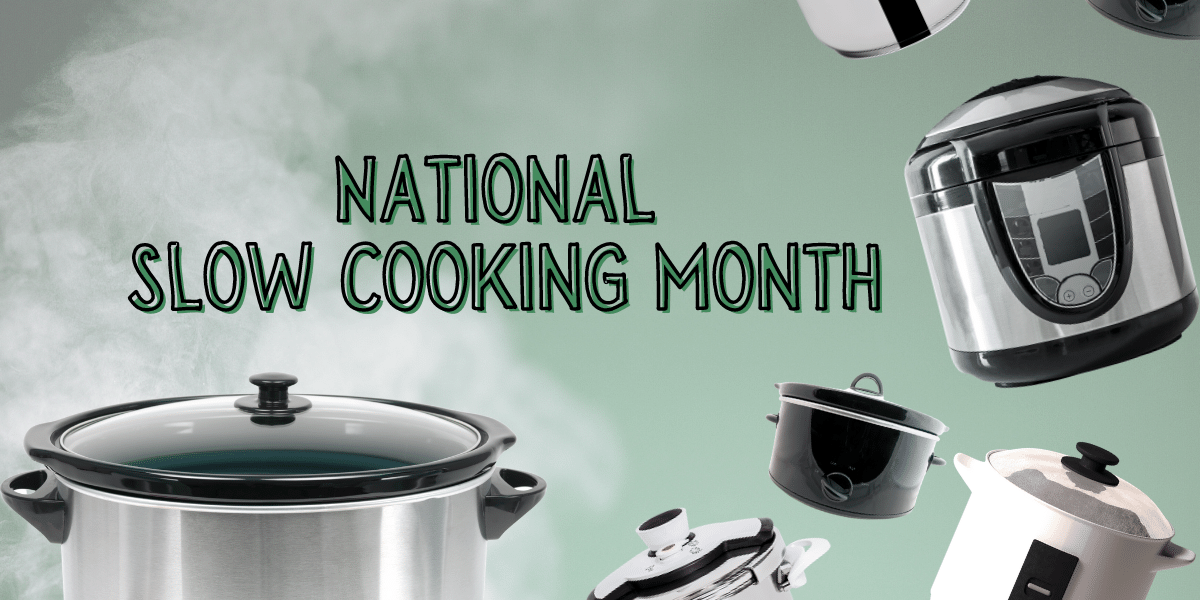 National Slow Cooking Month at the Library