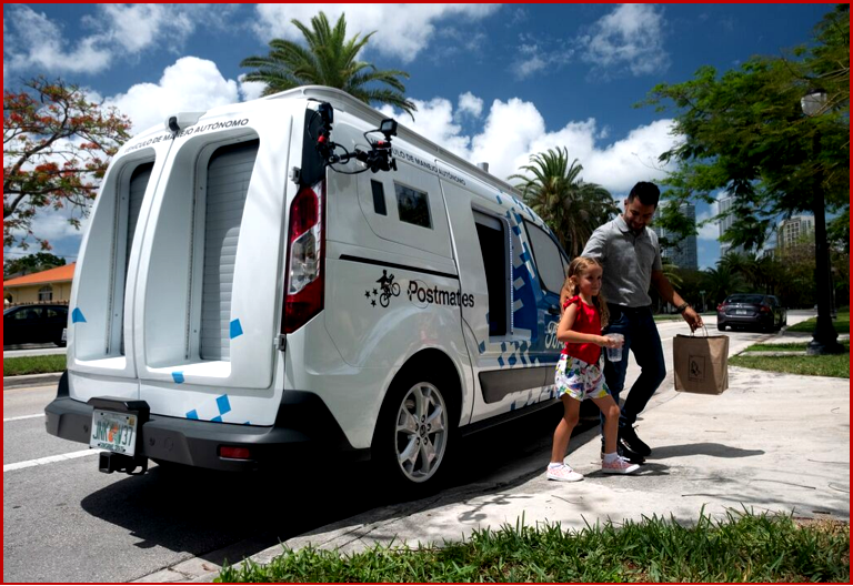 AutoInformed.com on Ford Transit Connect Self-Driving Delivery Van