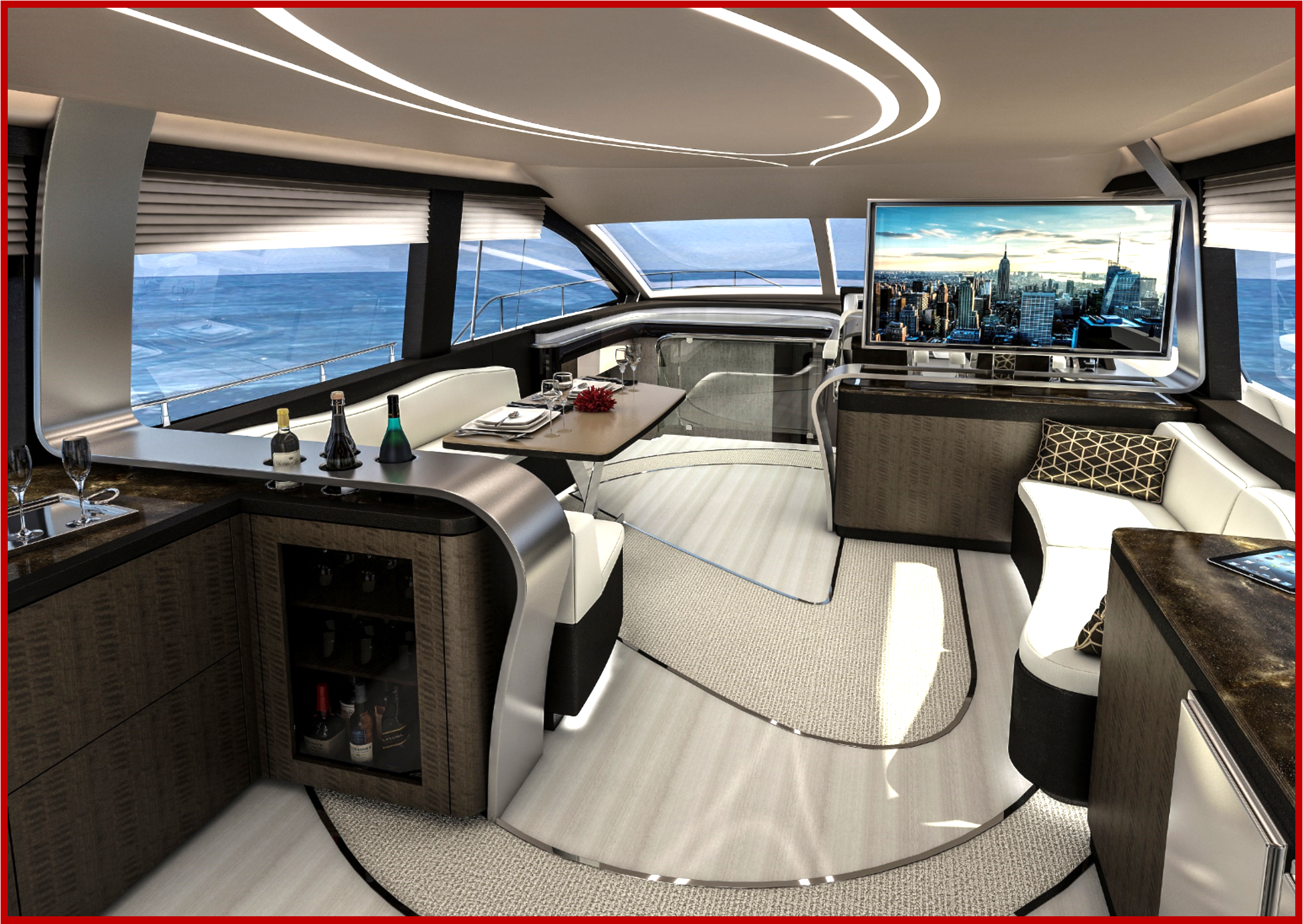 AutoInformed.com on Lexus LY 650 Yacht Interior