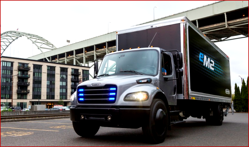 AutoInformed on First Fully Electric DaimlerFreightliner eM2