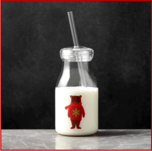 AutoInformed.com on Chinese Crate and Barrel Holiday Bear Acrylic Milk Bottle - Recalled