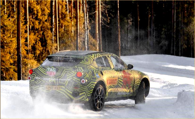 AutoInformed.com on Aston-Martin DBX SUV Winter Testing
