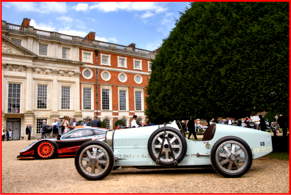 AutoInformed.com on Concours of Elegance at Fountain Gardens of Hampton Court