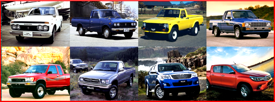 AutoInformed.com on 50 Years of Toyota Hilux pickups