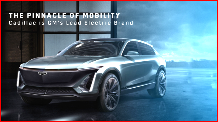 AutoInformed.com on Cadillac as GM's Lead Electric Brand