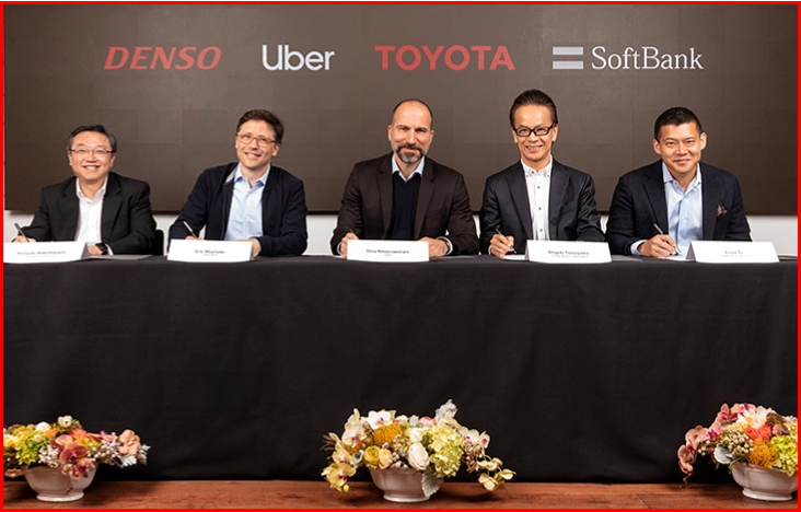 AutoInformed.com on Denso, Toyota, Uber, Softbank Agreement