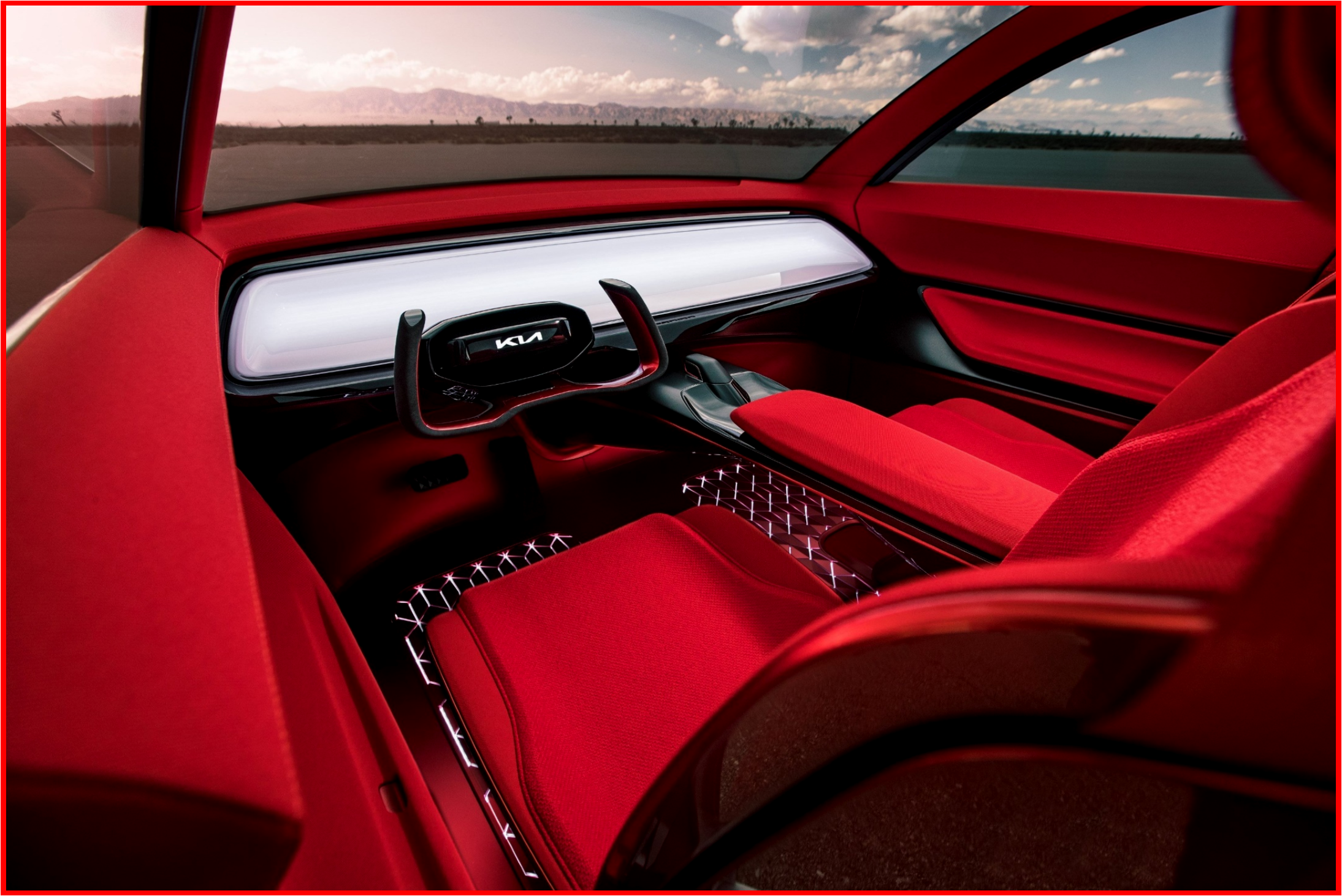 AutoInformed.com on Kia HabaNiro Concept Interior