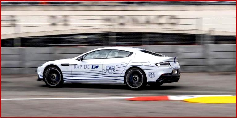 AutoInformed.com on Aston Martin Rapide E - Public Debut Monaco May 2019