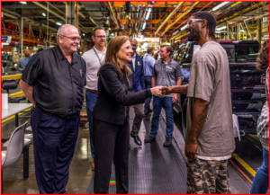 AutoInformed.com on GM COVID-19 Shutdowns     Ft Wayne Invest MaryBarra CEO - May 2019 - Photo GM