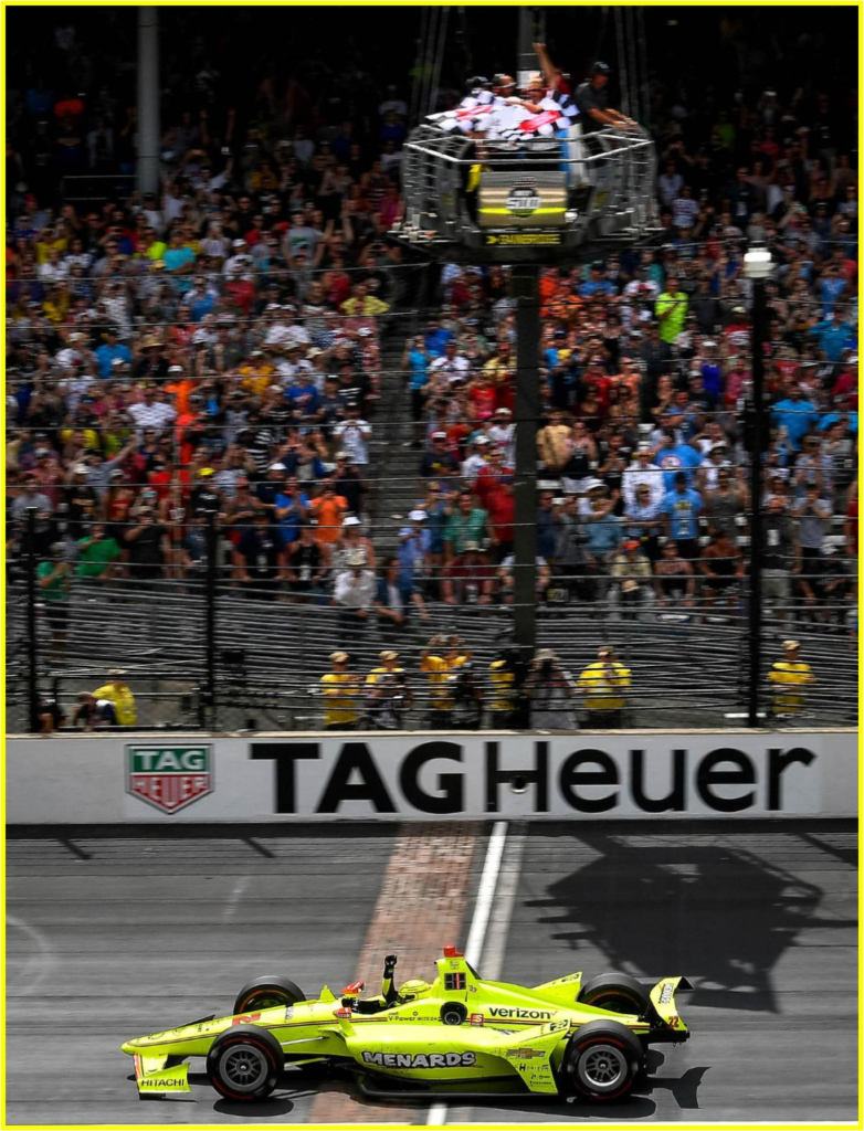AutoInformed.com on Pagenaud Wins Indy 500.  (Photo by Scott R. LePage/LAT for Chevy Racing)