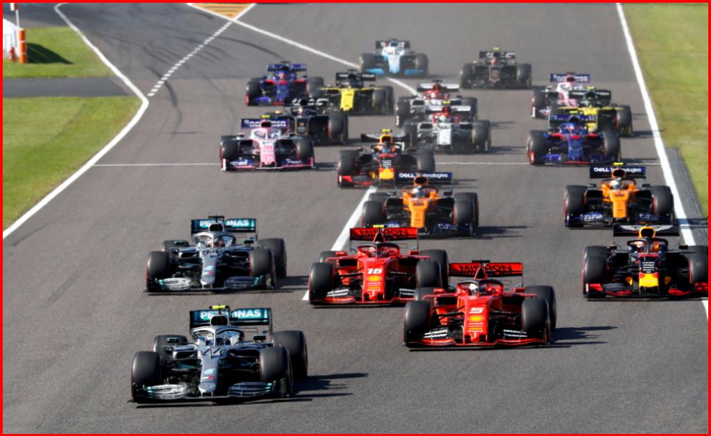 AutoInformed.com on Formula One - Mercedes-AMG Petronas Motorsport, Japanese GP 2019. Valtteri Bottas and Lewis Hamilton