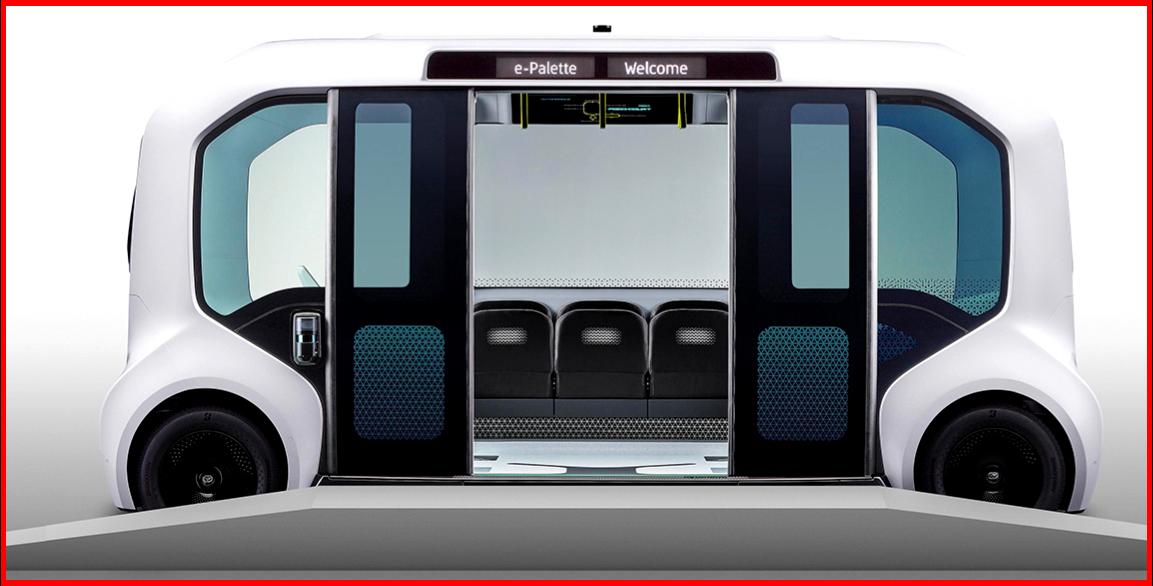 AutoInformed.com on Toyota e-Pallette - Tokyo 2019