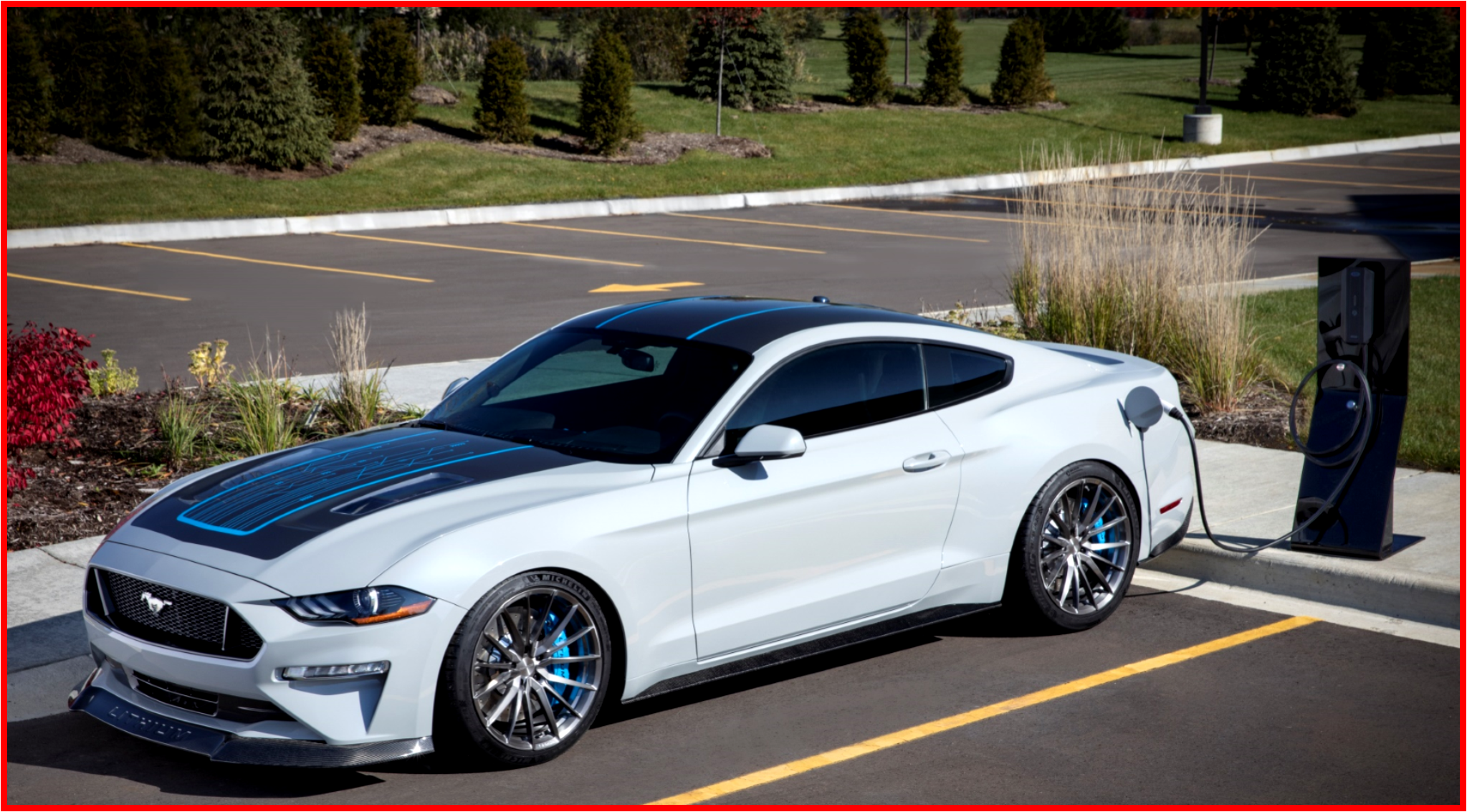AutoInformed.com on Ford Webasto Lithium Mustang Concept - SEMA 2019