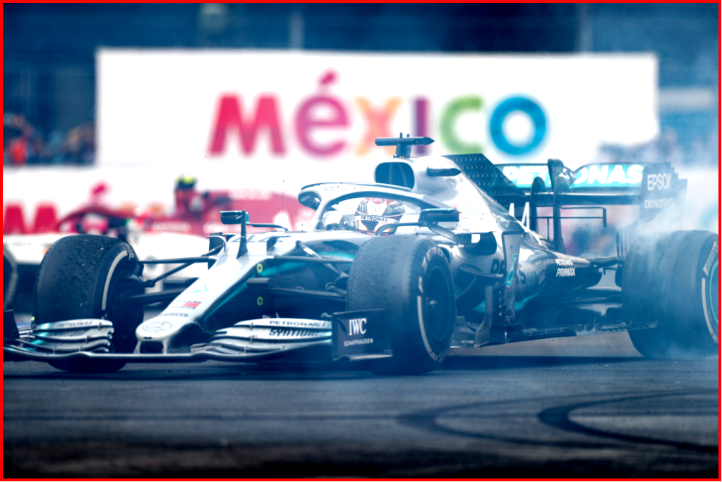 AtoInformed.com on Mercedes-AMG Petronas Motorsport, Mexican GP 2019. Lewis Hamilton World Championship