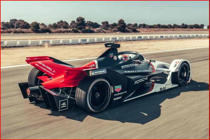 AutoInformed.comon the Porsche 99X Electric Formula E Race Car in Testing