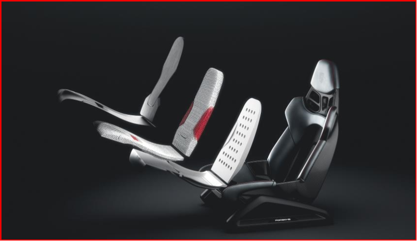 AutoInformed.com on Porsche 3D-Printed Body Form Bucket Seat Concept