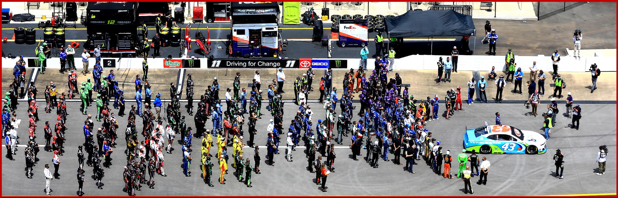 Ken Zino AutoInformed on NASCAR Embracing Black Lives Matter AutoInformed.com