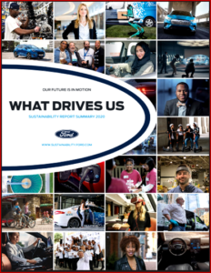 Auto Informed - Ken Zino of AutoInformed.com on Ford Motor 2020 Sustainability Report
