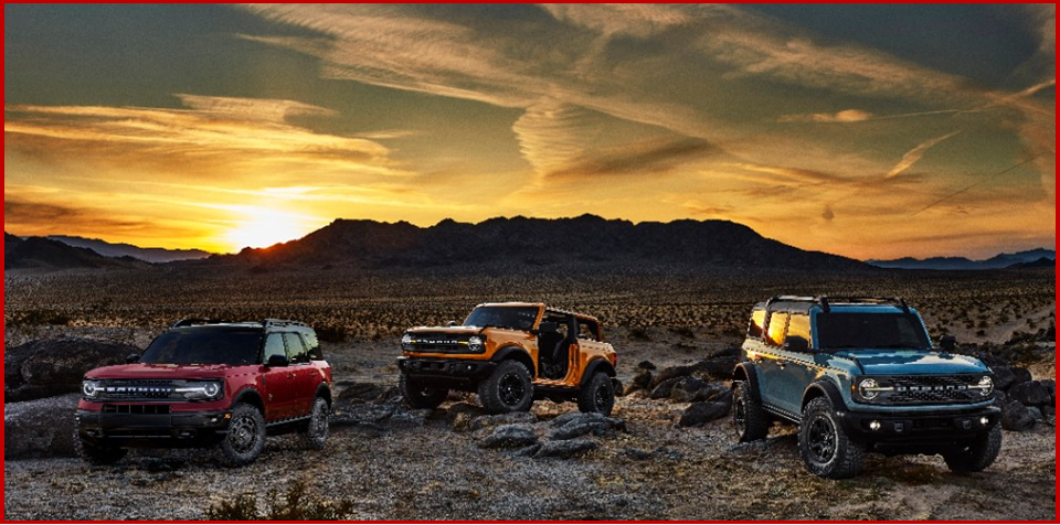 Ken Zino of AutoInformed.com on 2021 Ford Bronco Lineup