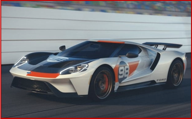 Ken Zino of AutoInformed.com on 2021 Ford GT Heritage Edition