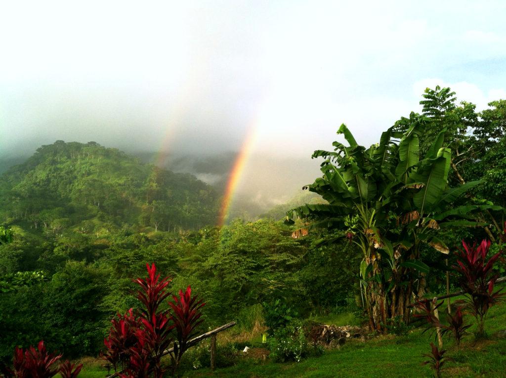 double rainbow costa rica