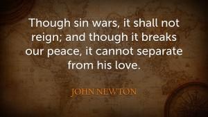 Newton, Sin's war