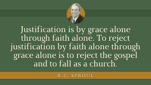 Sproul Quote Grace Alone