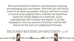 Baxter on Judging