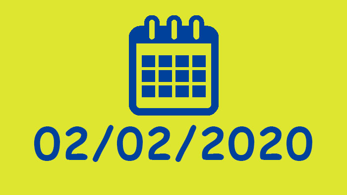 02/02/2020 – Uma Data Palindrômica   'Para frente e para trás' em inglês   Inglês Todos os Dias #425
