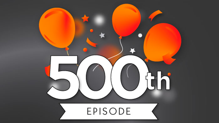 Episódio #500 do Mini-Podcast Inglês Todos os Dias: Um presente especial!
