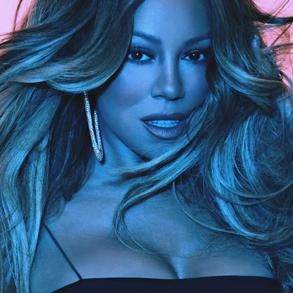 Mariah Carey Caution Album Cover