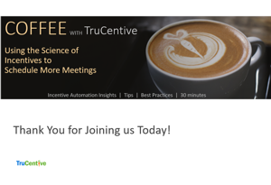 Using incentives to schedule more meetings