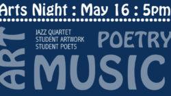 Arts Night – May 16