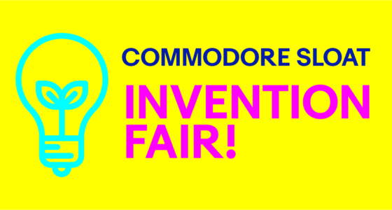 3rd Annual Sloat Invention Fair! April 4th