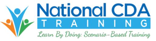 National CDA Training