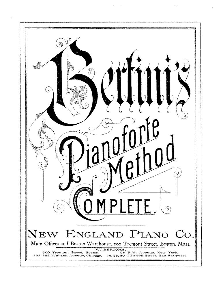 Piano Method Books – A Brief History
