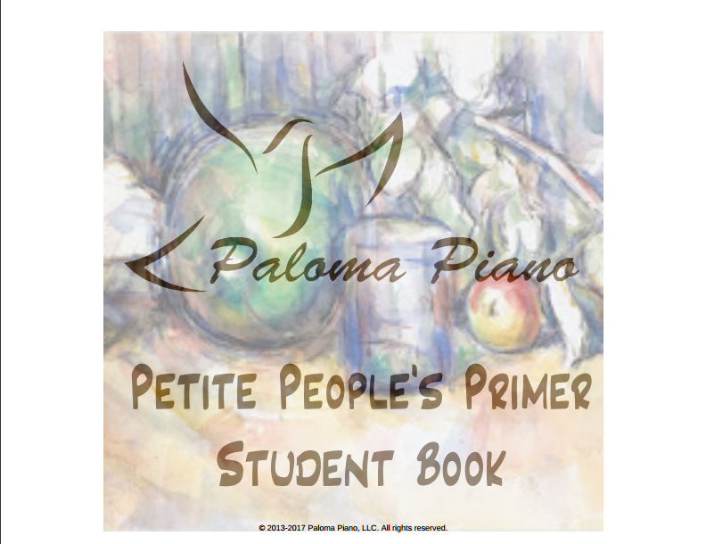 Petite People's Primer - Student Book - Cover