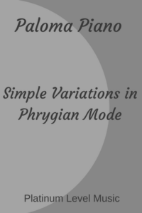 Simple Variations in Phrygian Mode - Cover