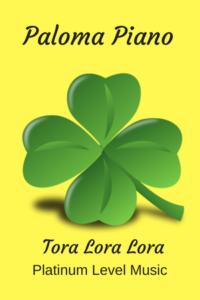 Paloma Piano - Tora Lora Lora - Cover