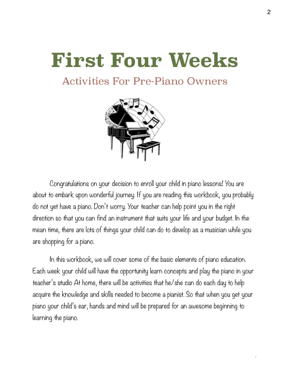 Paloma Piano - 1st 4 Before - Week 1 - Page 2