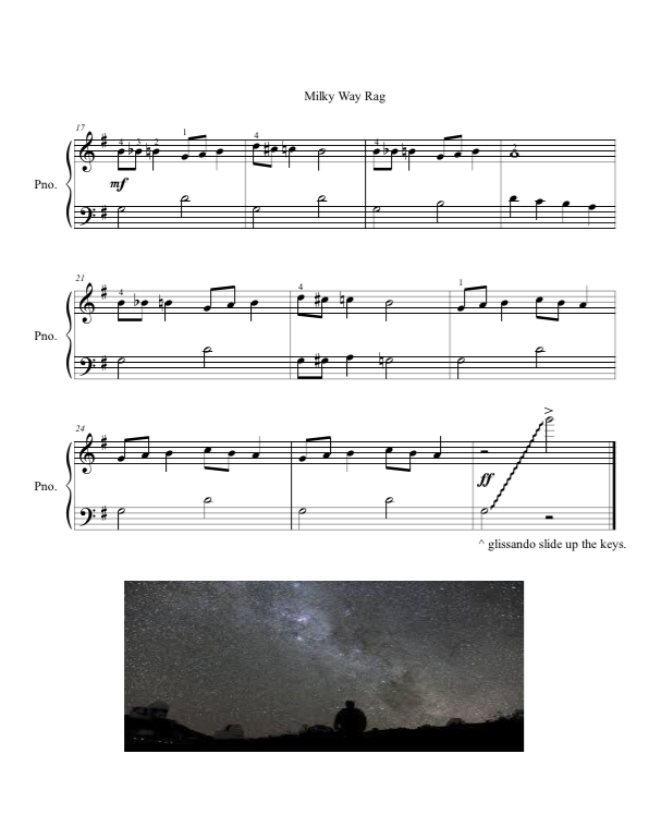 Paloma Piano - Milky Way Rag - Page 2
