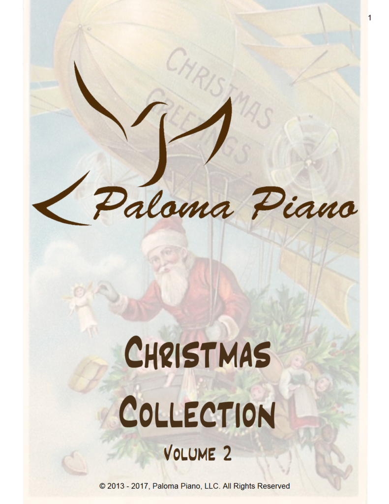 Paloma Piano - Christmas Collection - Volume 2 - Cover