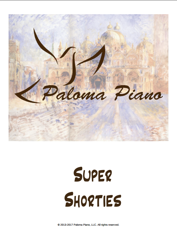 Paloma Piano - Super Shorties - Cover