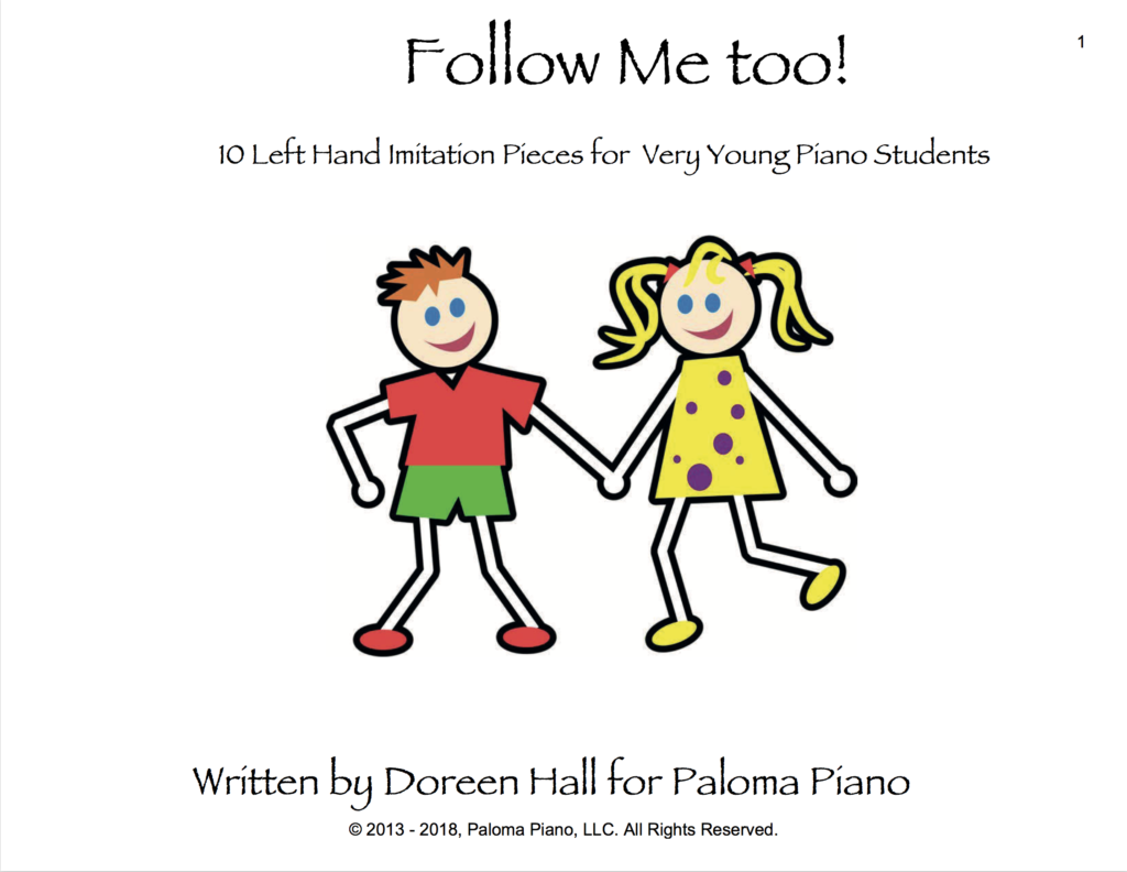 Paloma Piano - Follow Me Too - Page 1