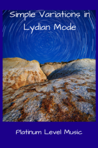 Simple Variations in Lydian Mode - Cover