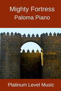 Paloma Piano - Mighty Fortress - Cover