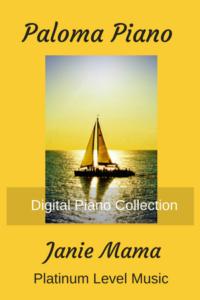 Paloma Piano - Janie Mama - Cover